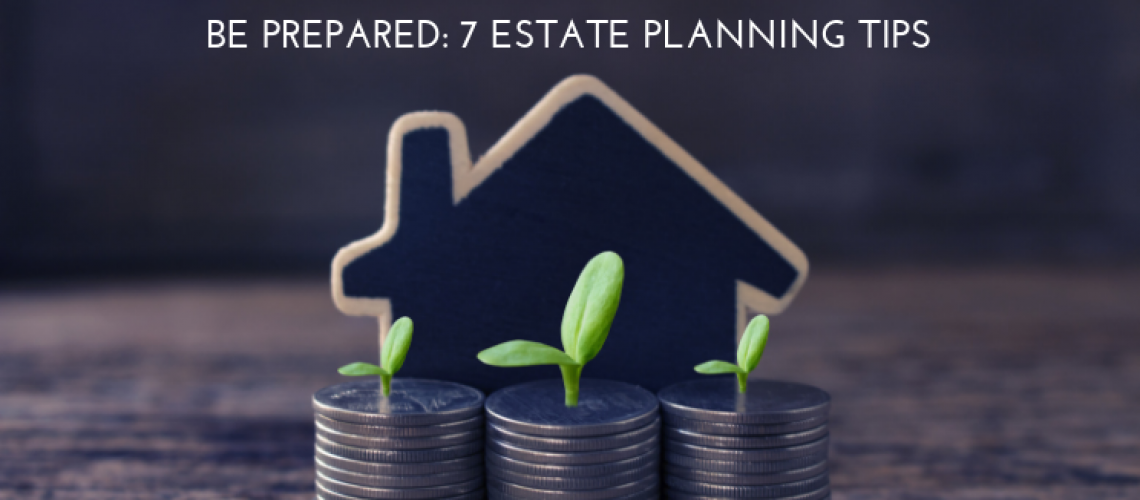 estate planning house coins plants seeds